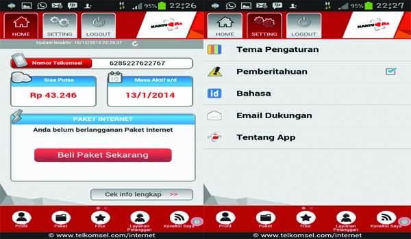 3 menu home MyTelkomsel