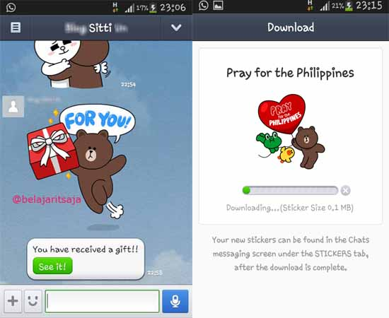 DOWNLOAD STICKER PRAY FOR THE PHILIPPINES