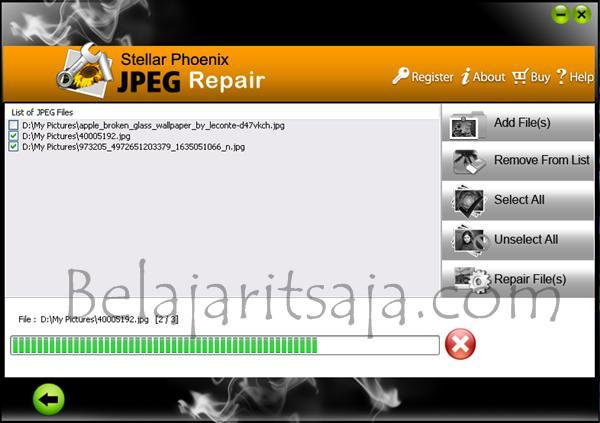 Stellar Phoenix JPEG Repair